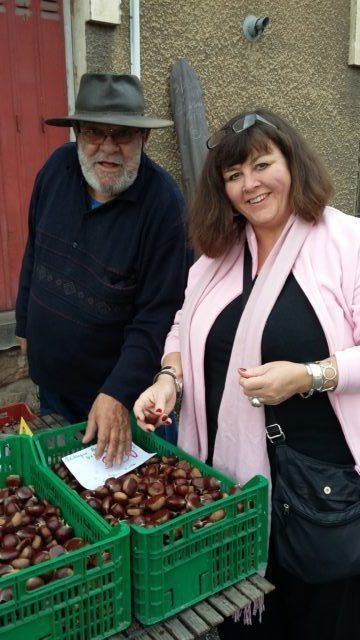 Chestnuts in France