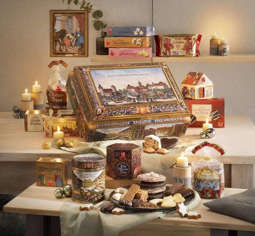 Win a German Gingerbread Chest with Finding Love at the Christmas Market